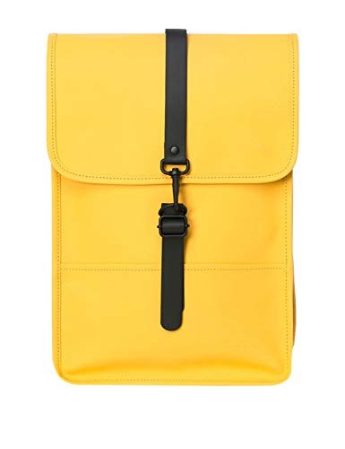 RAINS Backpack - Mini zaino da donna, Donna, Zaino, 1280, Giallo, taglia unica