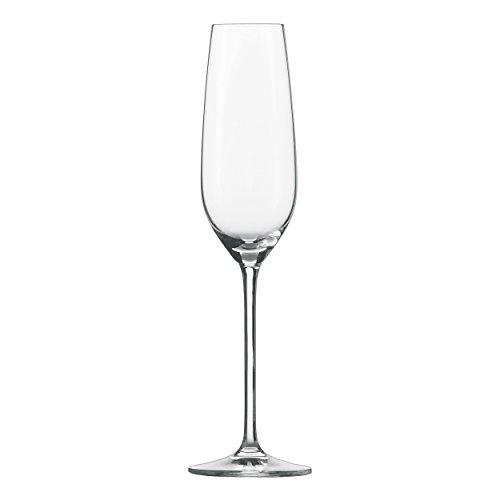 Schott Zwiesel FORTISSIMO Sekt-Glas, Kristallglas, transparent, 74 mm, 6