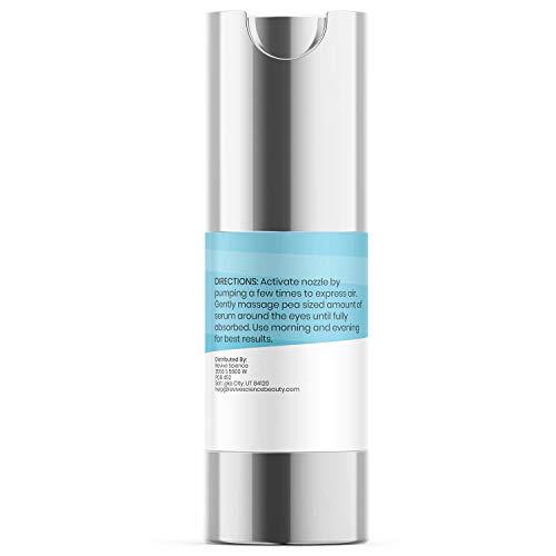 31gAPQ53AyL - Revive Science Eye Cream with Collagen, Caffeine, Niacinamide for Dark Circles, Puffiness, Wrinkles, Fine Lines, Under Eye, Bags - Anti aging Eye Serum for Men & Women (15 ML)