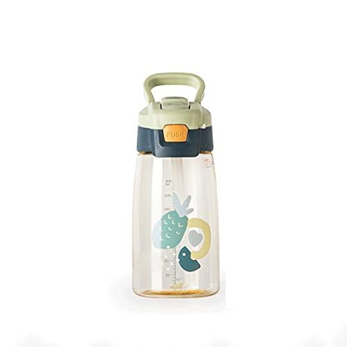 WYDNX Bottiglia d'Acqua 480ml/ 16. 2oz e 750ml/ 25.3oz, Bottiglia d' Acqua Sportiva, BPA. - Free tritan Riutilizzabile plastica, brocca d' Acqua per Palestra per Bambini all'aperto Sport Acqua brocca