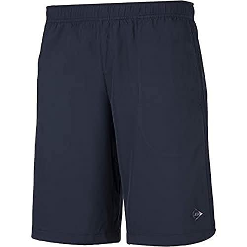 Dunlop Herren Club Line Men Woven Short, Navy, L