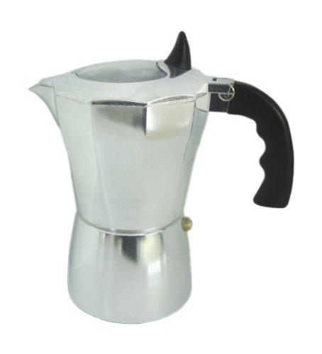 Kinghoff Moderner und eleganter Espressokocher Diverse Kapazitäten! (3 Tassen | Klassisch)