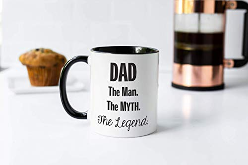 N\A Papá el Hombre el Mito la Leyenda Taza de café