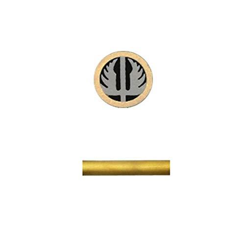 Mosaic Pins Knife Handle,Hunting Knives Fastener Stud Rivets,Mosaic Screw Nail (8mm, Wing)