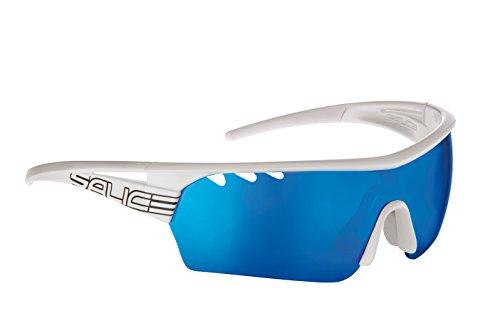 Salice 006RW - Gafas de Ciclismo, Color Blanco, Talla única