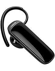 Jabra Talk 25 Mono In-Ear Headset – Trådlösa samtal och streaming av musik, GPS-beskrivning och podcasts från mobila enheter – svart