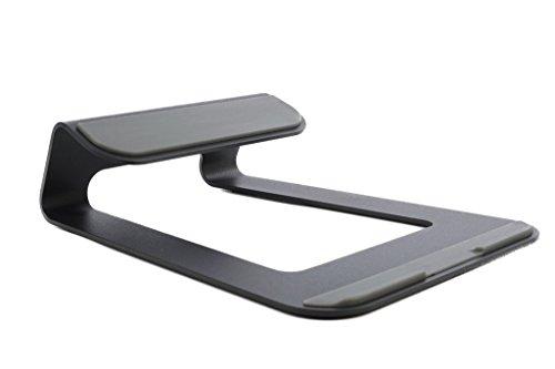 Bramley Power Support de Bureau en Aluminium pour Apple MacBook et Tous Les Ordinateurs Portables (Noir)