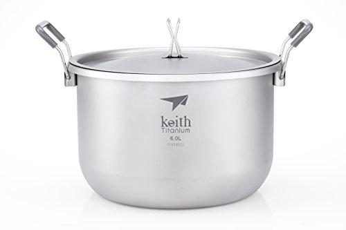 Keith Titanium Ti8301 Pot - 6.0 L