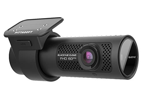 BlackVue DR750X-1CH (64 GB) UK Edition - Full HD Dash Cam with Smooth 60fps Video, Wi-Fi, GPS, Bluetooth, Intelligent Parking Mode & 4G LTE Capability for always-on Cloud Connectivity