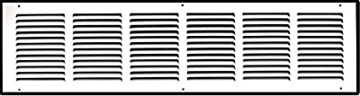 "30"" X 6"" Steel Return Air Grille 