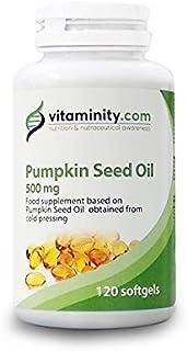 Vitaminity Aceite de Semillas de calabaza 500 mg –