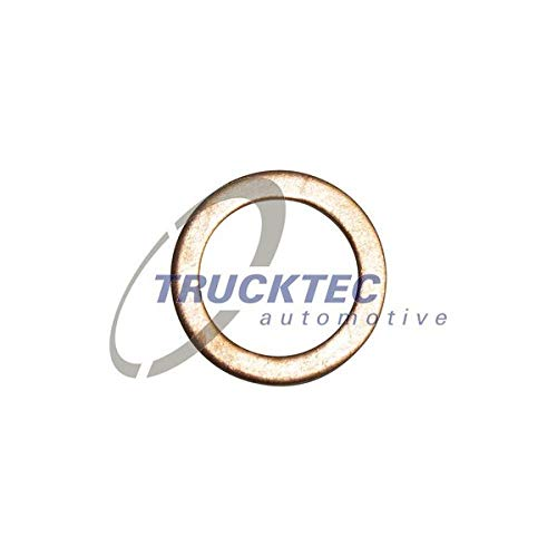Trucktec Automotive cu 14 X20 X1,5 Dichtring, Ölablaßschraube