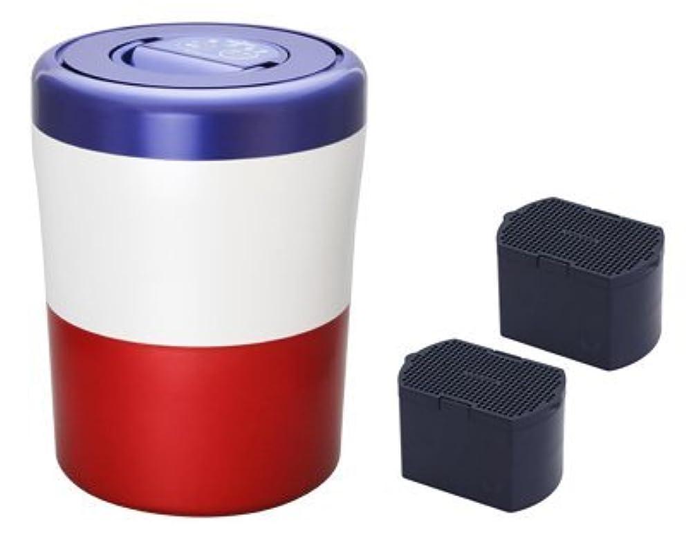 【脱臭フィルターセット】島産業 家庭用生ごみ減量乾燥機 【パリパリキューブ ライト】 トリコロール PCL-31-BWR