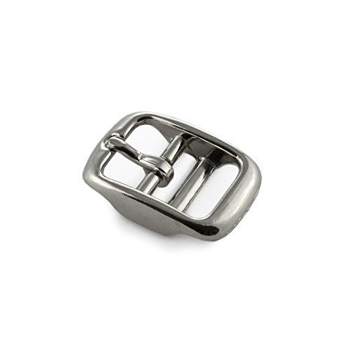 Ganzoo riemgesp van roestvrij staal, set van 5 stuks, riemgespen voor dames en heren, Paracord 550 gesp in zilver, max. Breedte riem 16 mm, gesp, riem, merk