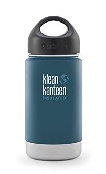 Klean Kanteen(クリーンカンティーン) ワイドインスレート ボトル 12oz ネプチューンブルー 19320012212012