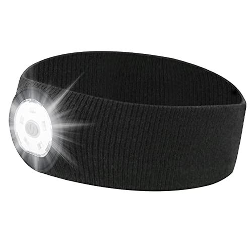 Cinta de Cabeza Encendido LED LED Cabezal de la antorcha linternas de Cabeza Portable LED Super Brillante luz 3 de Modo Ajustable USB luz de los Deportes de la batería Recargable