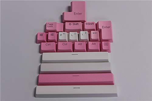 KeyCaps para teclados 20 casquillos de tecla de luz de fondo translucidus...