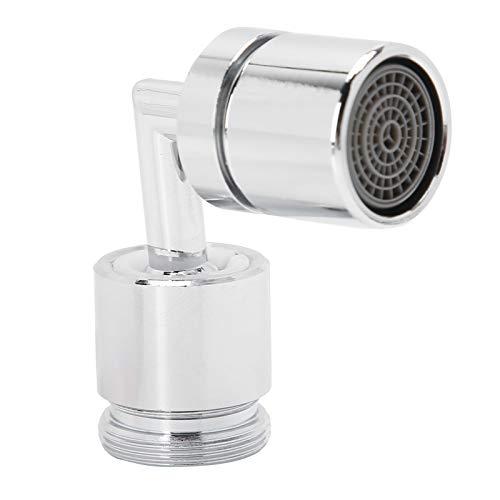 Qqmora Robinet d'eau M24 Rotatif à 360 degrés Robinet Rotatif Robinet d'eau Universel Grand Angle Salle de Bains Domestique