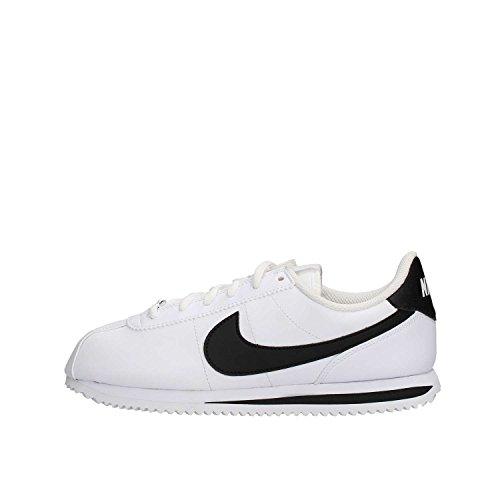 Nike Cortez Basic SL (GS), Scarpe Running Donna, Bianco (White/Black 102), 36 EU