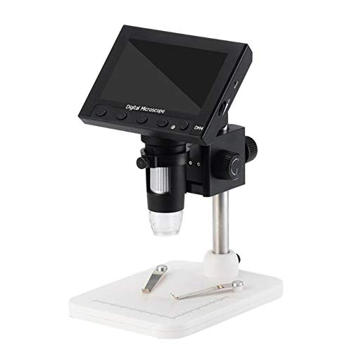 DM4-Z01B019 Electronic Digital Video Microscope Portable LED Magnifier with Detachable 18650 Battery 21317289mm Pack of 1