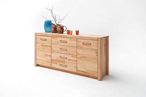 RASANTI Sideboard 2-türig, 4 Schubkästen FENJA von MCA Furniture/Kernbuche Massivholz