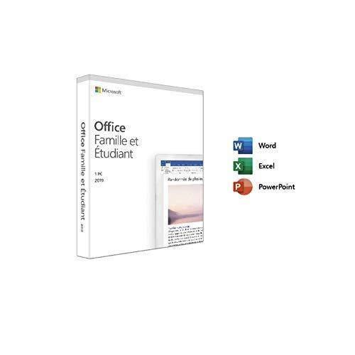 Office Famille et Etudiant 2019 uniquement PC   Nouveau   Français