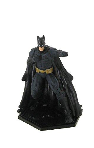 Figuras DC Comics Superhéroes de La Liga de la Justicia ¡Combate el mal! Batman 9 cm de altura ¡Recluta a los superhéroes y completa la colección!
