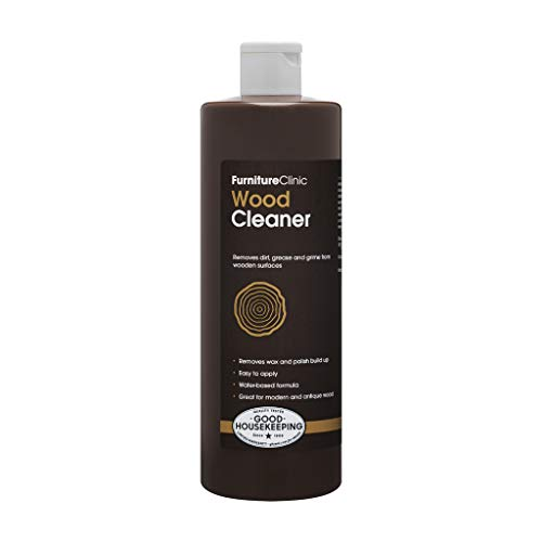 Furniture Clinic Wood Cleaner (500ml) | Restore & Clean Wooden Floors,...