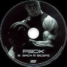 Beachbody P90X Extreme Home Fitness #10 BACK & BICEPS DVD