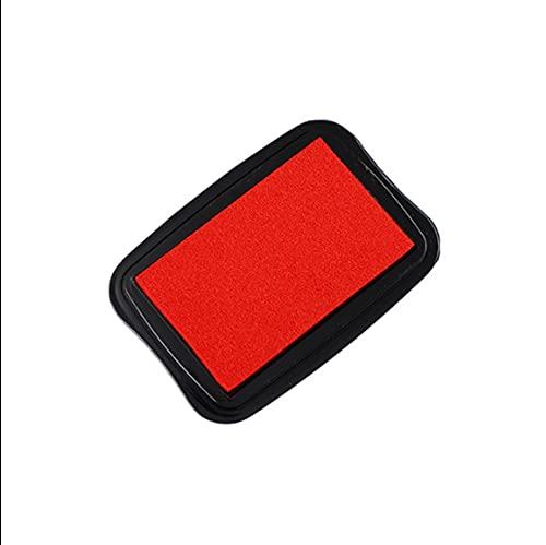 N \ A Tampones de colores rojos, para papel, manualidades, álbumes de recortes, cumpleaños de niños