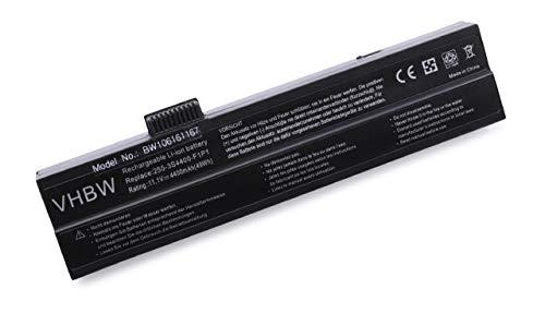 vhbw Akku passend für Fujitsu-Siemens Amilo : A1640, A1667, A1667G, A7640, M1405 Laptop Notebook - (Li-Ion, 4400mAh, 11.1V, 48.84Wh, schwarz)