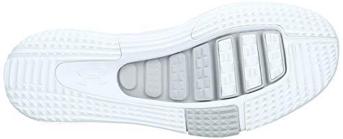 Under Armour Zapatos de entrenamiento Under Armour SpeedForm AMP 2.0 para hombre, blanco / gris glaciar, 11 D (M) US