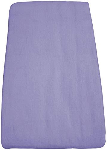 Body Linen Flannel Flat Massage Table Sheet - Dahlia Purple - 61x100 inches - 100% Cotton