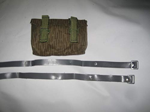 NVA Tasche klein 2 Riemen einstrich keinstrich für NVA Felddienst Uniform NVA Sturmgepäcktaschen