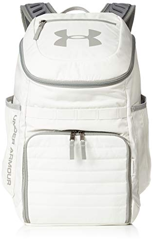 Under Armour Unisex Undeniable 3.0 Backpack, Summit White (110)/Gravity Green, One Size Fits All