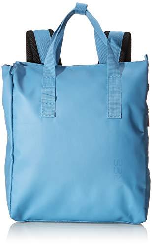 BREE Unisex-Erwachsene PNCH 732 backpack Rucksack, Blau (Provincial Blue), 12x38x32 cm