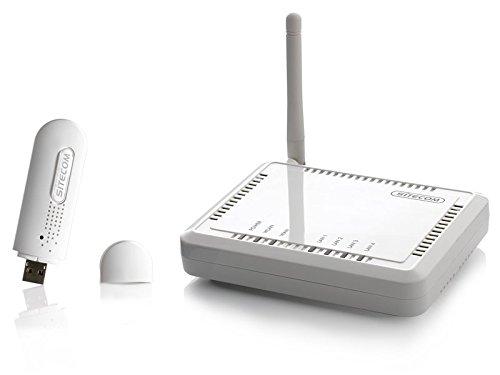 Sitecom WL-580 WLAN Kit (Router + Adapter) 54 Mbit/s