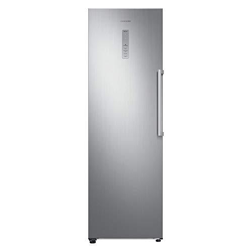Samsung RZ32M7115S9 Independiente Vertical 315L A++ Platino, Acero inoxidable - Congelador (Vertical, 315 L, 21 kg/24h, SN-T, Sistema de descongelado, A++)