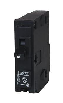 Siemens D130 QO Replacement 30-Amp Single Pole Circuit Breaker