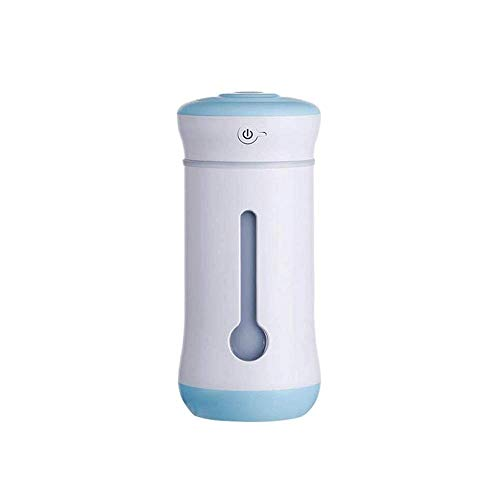 Allamp Humidificador Mini USB Inicio Dormitorio Mute Oficina Desktop Air Air Mujer Embarazada bebé Aire Acondicionado Aire Acondicionado Hidratante Spray Adecuado para Habitaciones, Estudio, Oficina
