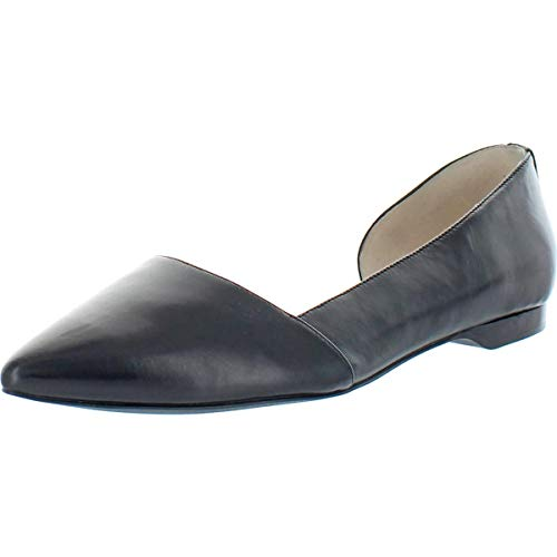 Cole Haan Womens Bambra II Leather Pointed Toe D'Orsay Black 9 Medium (B,M)