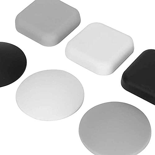 zhaita Protector de pared de goma suave, protector de pared, amortiguador, para oficina, hogar, dormitorio