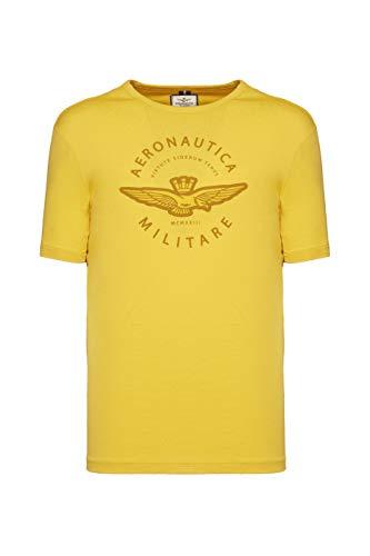 Aeronautica Militare T-Shirt Uomo Art.TS1719J452 col.Giallo (54 XXL IT Uomo)