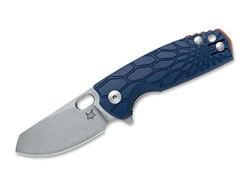 Fox Knives Unisex– Erwachsene Baby Core Blue Taschenmesser, Blau, 14,5 cm