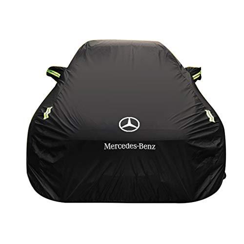Cubierta de coche Mercedes Benz CLA Series Cubierta del coche Ropa del coche Grueso Oxford Tela Protección solar Cubierta de la lluvia Tela del coche Cubierta del coche (Tamaño : CLA180)