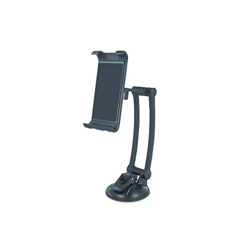 Forever tablethouder met zuignap iPad houder verstelbaar voor draagbare iPad Air/Mini, Samsung Galaxy Tab, tablets ideaal voor spiegel/venster/wanden/keuken/tafels/auto's