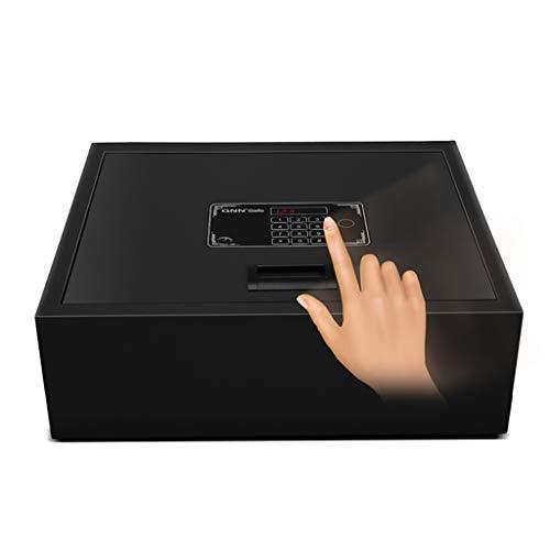 Sicherheitsschrank Electronic Home Safe mit Medium Drum Safe auf der Schublade Autotresor (Color : Black, Size : 40 * 35 * 13cm)