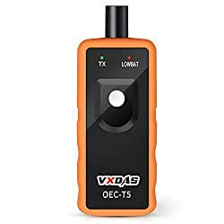 VXDAS Auto Tire Pressure Monitor Sensor TPMS Relearn Reset Activation Tool OEC-T5 for GM Series Vehicle