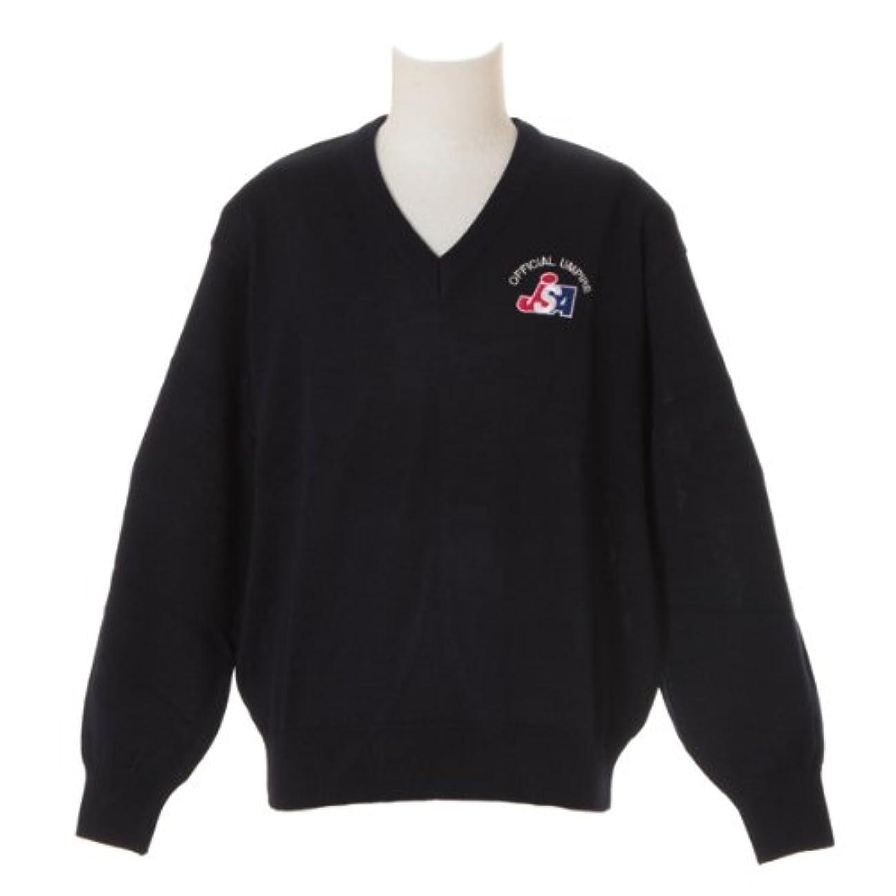 コミュニケーション後方海嶺MIZUNO(ミズノ) ソフトボール審判員用 V首セーター 52SU4514