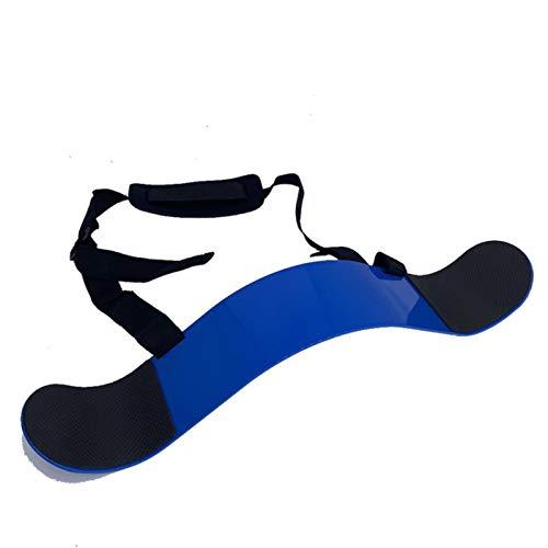 HJKND Levantamiento de Pesas Arm Blaster Biceps Training Ajustable Aluminio Bodybuilding Gym Curl Triceps Antebrazo Entrenador Equipo de Fitness